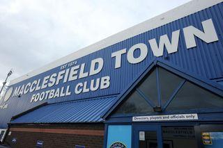Macclesfield Town File Photo