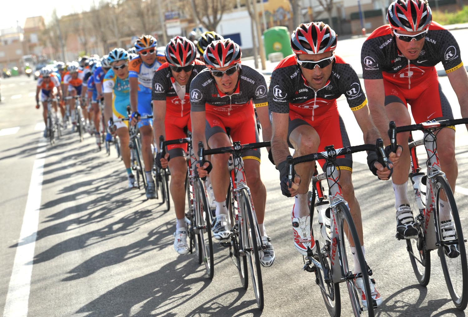 RadioShack, Tour of Murcia 2010, stage one