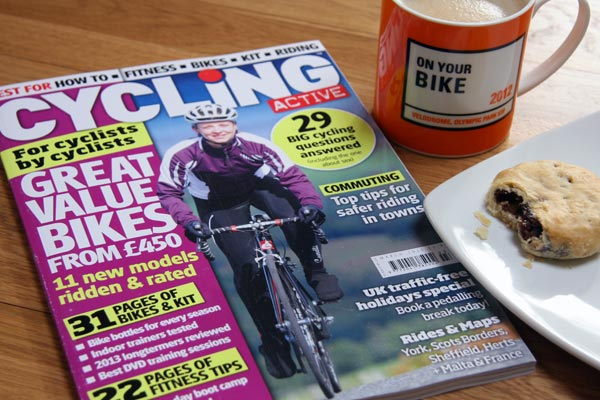 Cycling Active March 2013
