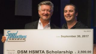 Sound Productions Awards Scholarship to Local Technical Student