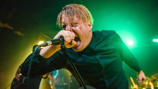 Deafheaven performing live