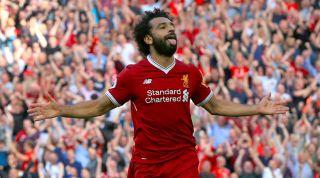 Mo Salah, Liverpool 4-0 Arsenal