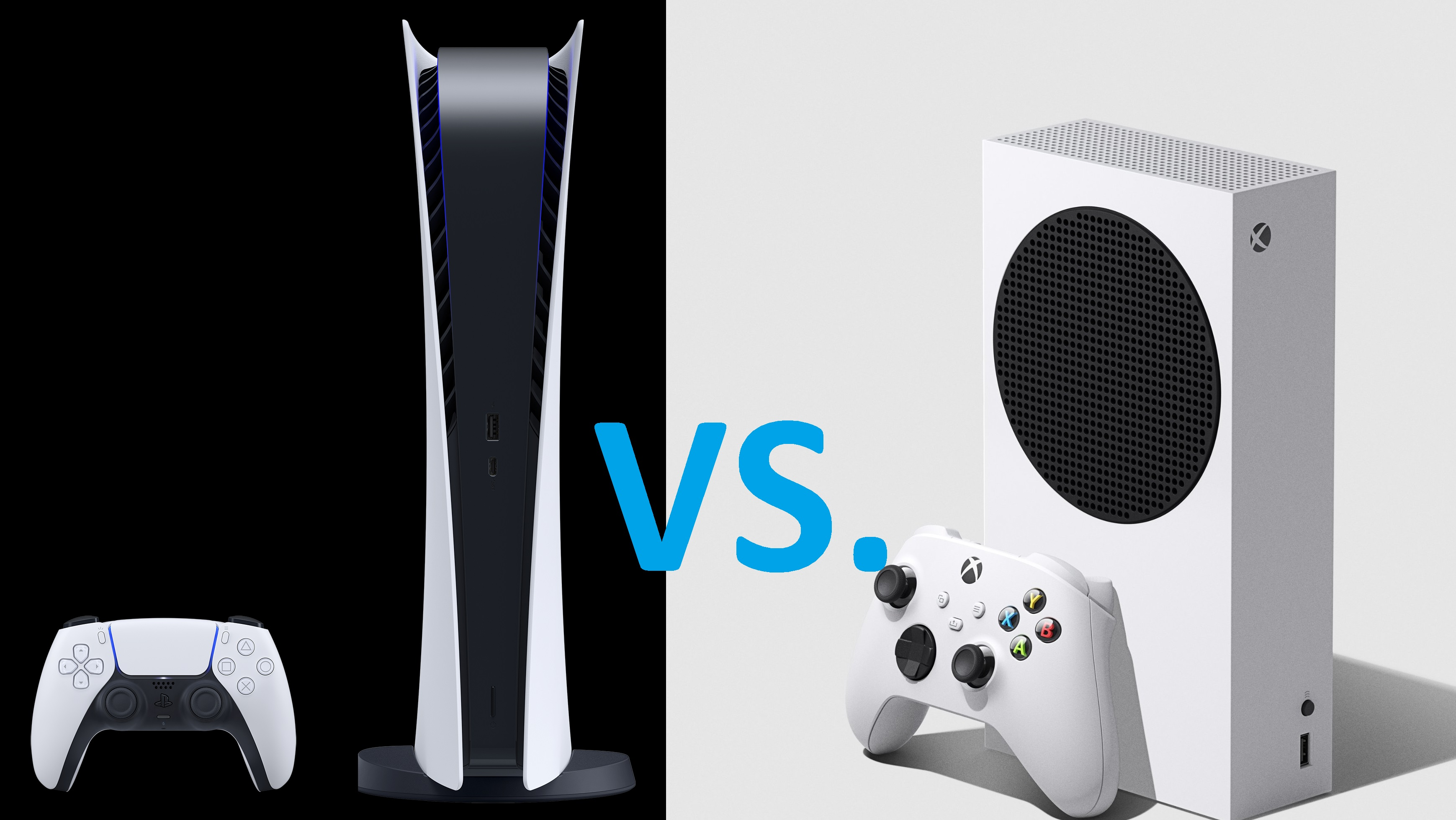 Ps5 Digital Edition Vs Xbox Series S Which One Should You Buy Laptop Mag