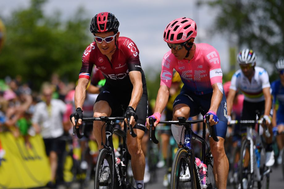 Michael Woods says he will apologise to Geraint Thomas for Tour de France crash