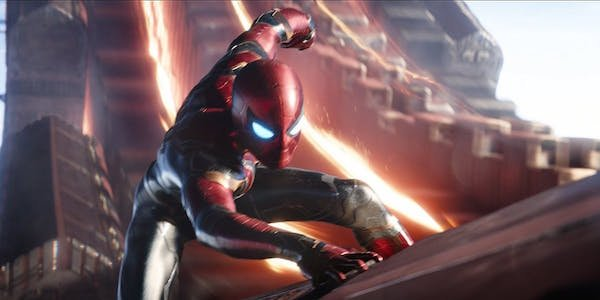 Spider-Man's new suit in the MCU.