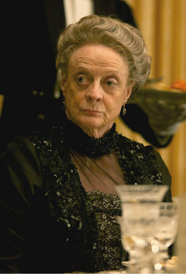 debate-downton abbey-maggie smith-woman and home