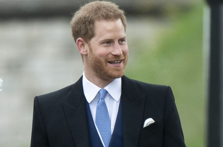 prince harry first post royal role thomas tank engine introduction
