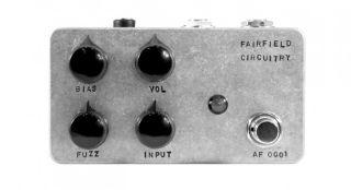 Fairfield Circuitry's new ~900 fuzz pedal