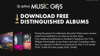 Qobuz is offering everyone FREE hi-res album downloads