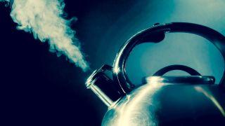 Kettle boiling