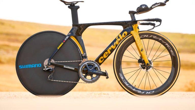 roglic olympic time trial bike