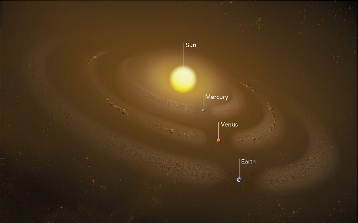 Surprise! Dust Ring Discovered in Mercury's Orbit