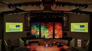 Georgia Church Installs PixelFLEX FLEXCurtain HD LED Technology