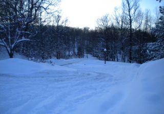 Jonas dumped quite a bit of snow on Reading, Pennsylvania, seen in this image taken on Sunday, Jan. 24.