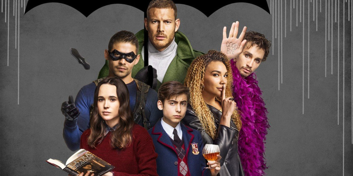 The Cast of Umbrella Academy Poster