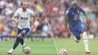 Tottenham Hotspur vs Chelsea live stream — Harry Kane of Tottenham Hotspur and Romelu Lukaku of Chelsea
