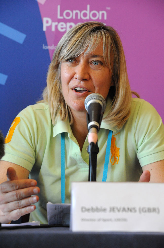 Debbie Jevans, LOCOG director of sport