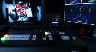Atem Television Studio Pro 4k Used By Zodiac Studios On Austin Music Live Streaming Series Broadcasting Cable