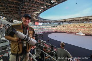 The Canon EOS R3 is at the Olympics – first real shots from the field!