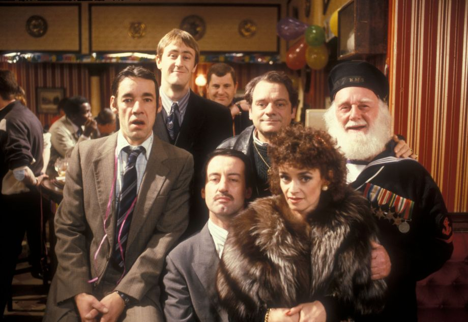 Trigger in Only Fools with Rodney, Del, Albert, Boycie and Marlene
