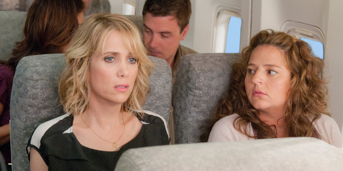 Kristen Wiig and Annie Mumolo in Bridesmaids