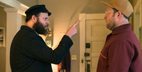 Seth Rogen Hilariously 'Tried To Get Out' Of Playing Both Roles In American Pickle