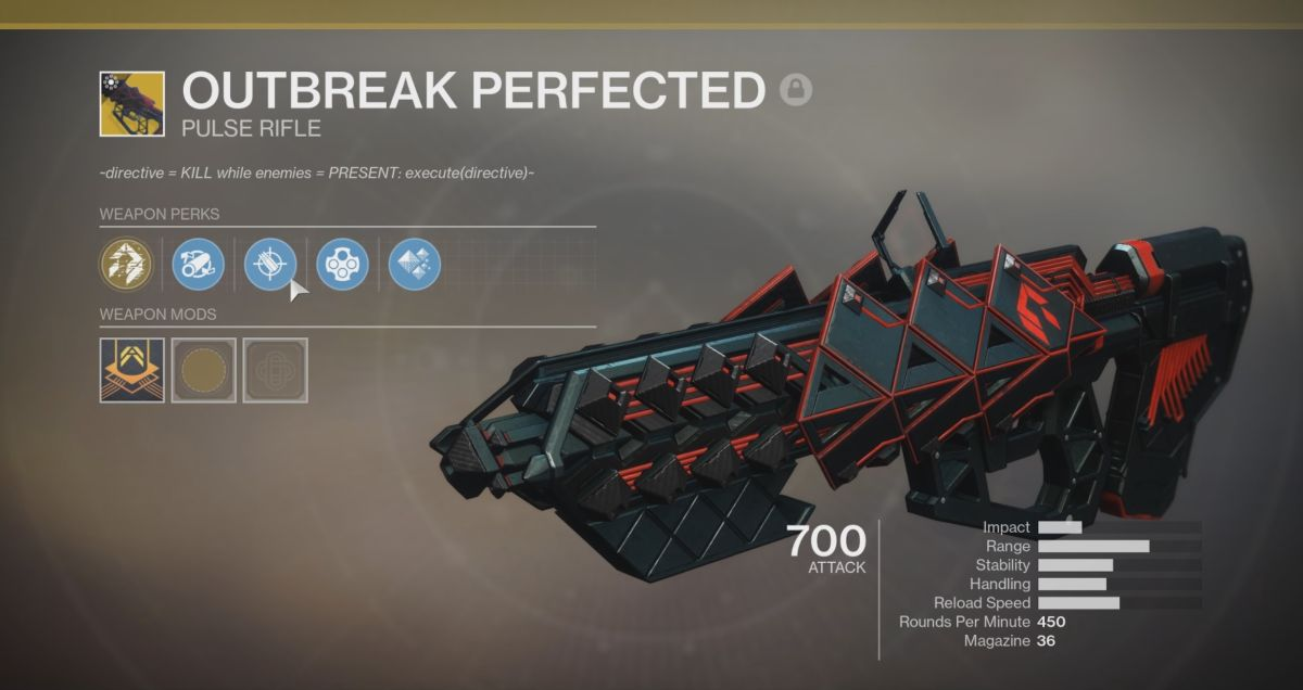 Destiny 2 Outbreak Perfected guide: How to get the Outbreak Perfected Exotic pulse rifle and its Exotic Catalyst - GamesRadar