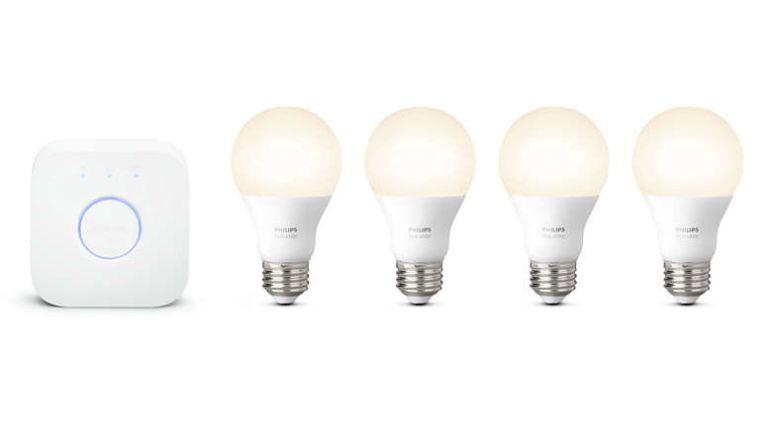 Trump light bulb scandal: Philips Hue starter kit white