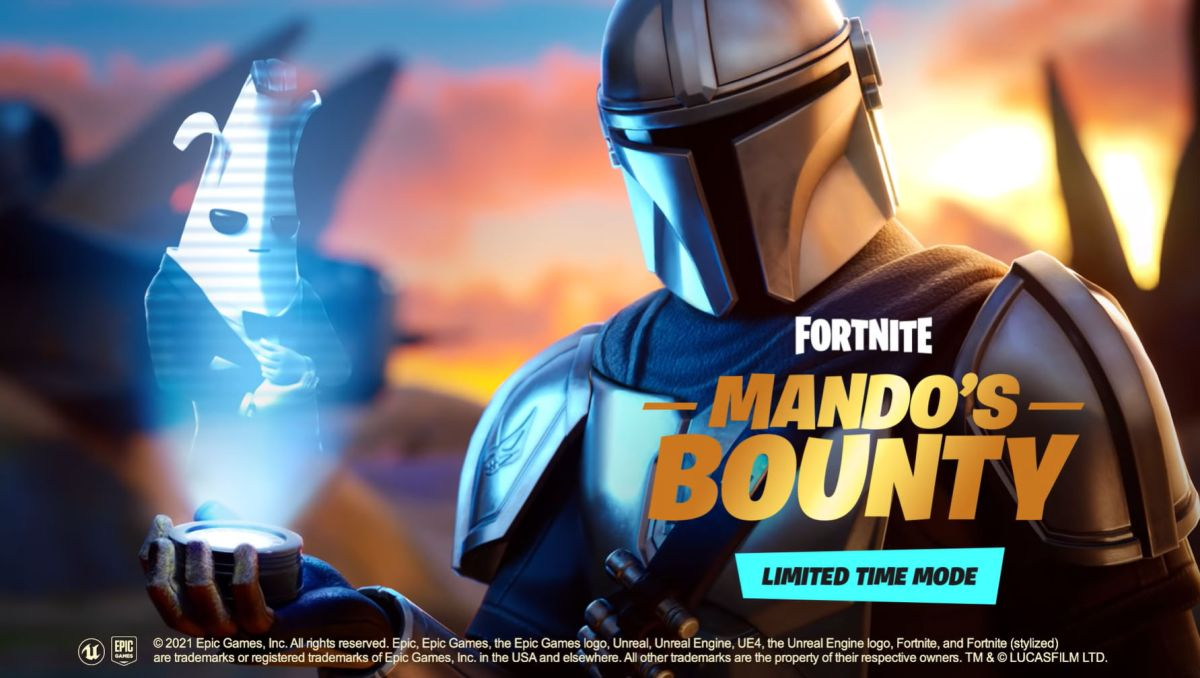 You can out bounty-hunt the Mandalorian in Fortnite's new limited-time mode right now