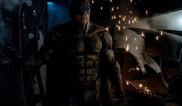 Batman armor justice league