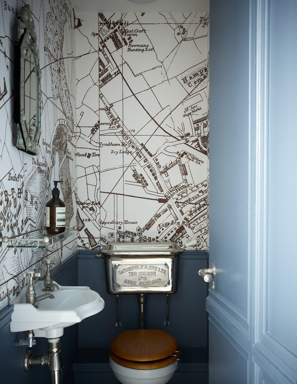 Modern Cloakroom Ideas Cloakrooms Powder Rooms Decor Inspiration Livingetc