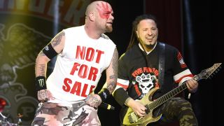 Ivan Moody and Zoltan Bathory