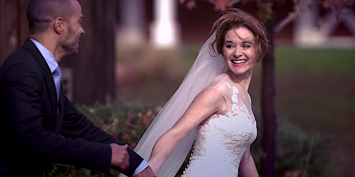Grey's Anatomy April Kepner runs out on her wedding with Jackson Avery