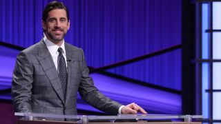 Aaron Rodgers, all-star quarterback for the Green Bay Packers, is 'Jeopardy!''s latest guest host.