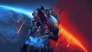 Mass Effect Legendary Edition key art.