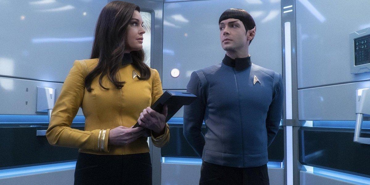 Rebecca Romijn Ethan Peck Star Trek: Short Treks