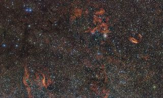 Clouds of the RCW 106 Region
