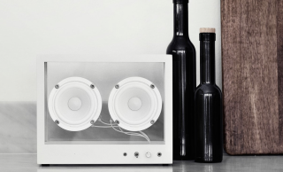 Transparent Sounds has made a wireless speaker that's... transparent