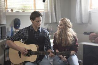 Fin Argus and Sabrina Carpenter in Clouds