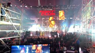 Hippotizer Boreal+ servers drive visuals at the Triller boxing event in Atlanta