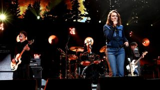 Brandi Carlile performs with Soundgarden onstage during I Am The Highway: A Tribute To Chris Cornell at The Forum on January 16, 2019 in Inglewood, California.