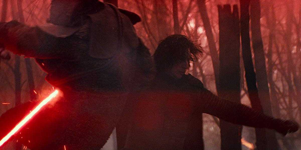 Kylo Ren in Star Wars: The Rise of Skywalker