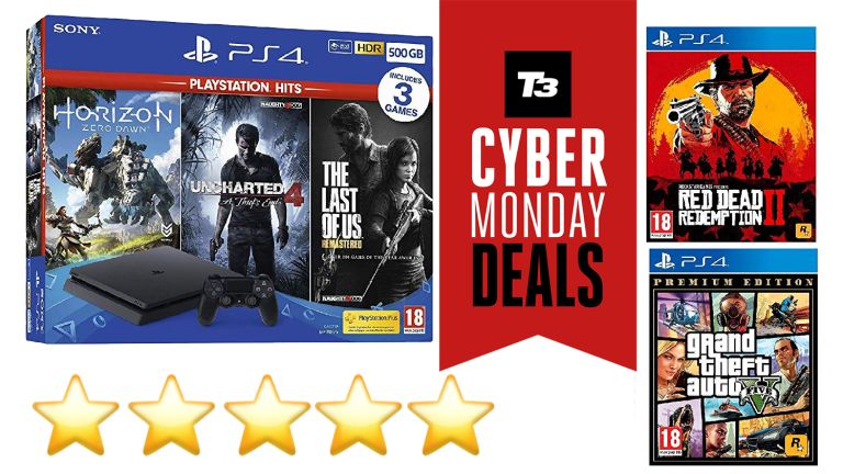 Sony PS4 gaming deal Cyber Monday Amazon Red Dead Redemption 2 Horizon Zero Dawn Uncharted 4 Grand Theft Auto V Horizon Zero Dawn