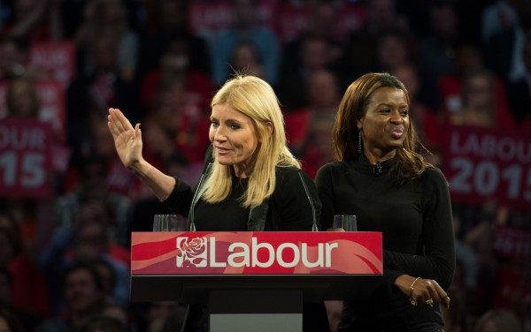 Michelle Collins has her say on why people should vote Labour, accompanied by June Sarpong