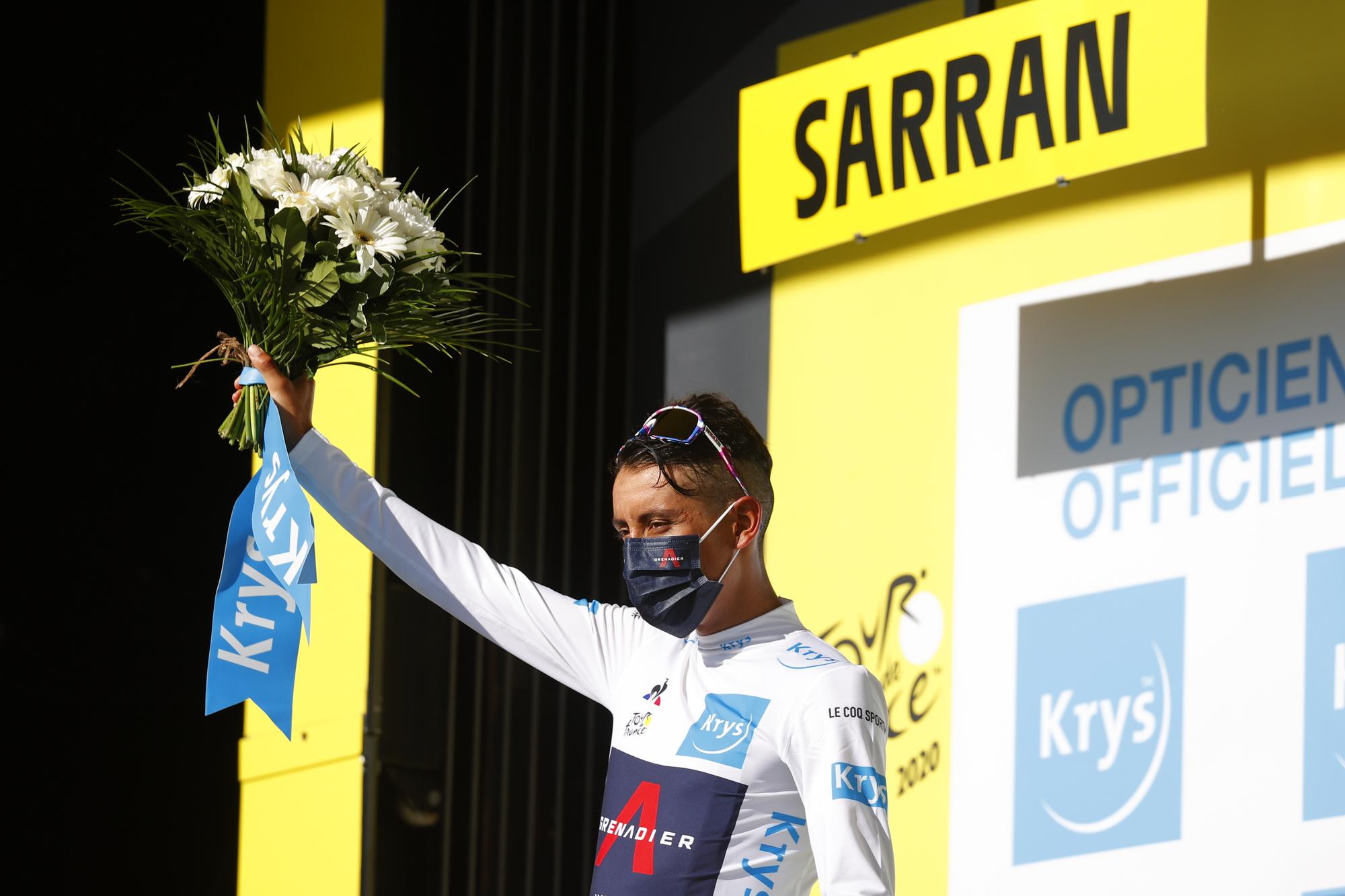 Tour de France 2020 107th Edition 12th stage Chauvigny Sarran km 218 10092020 Egan Bernal COL Team Ineos photo Luca BettiniBettiniPhoto2020