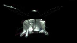 MAVEN mars orbiter selfie