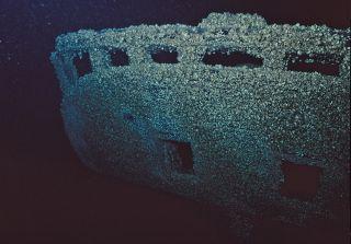 unknown shipwreck in lake michigan