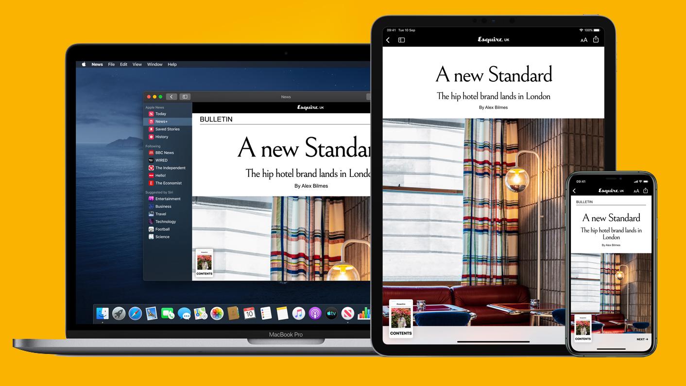 Apple News Plus UK