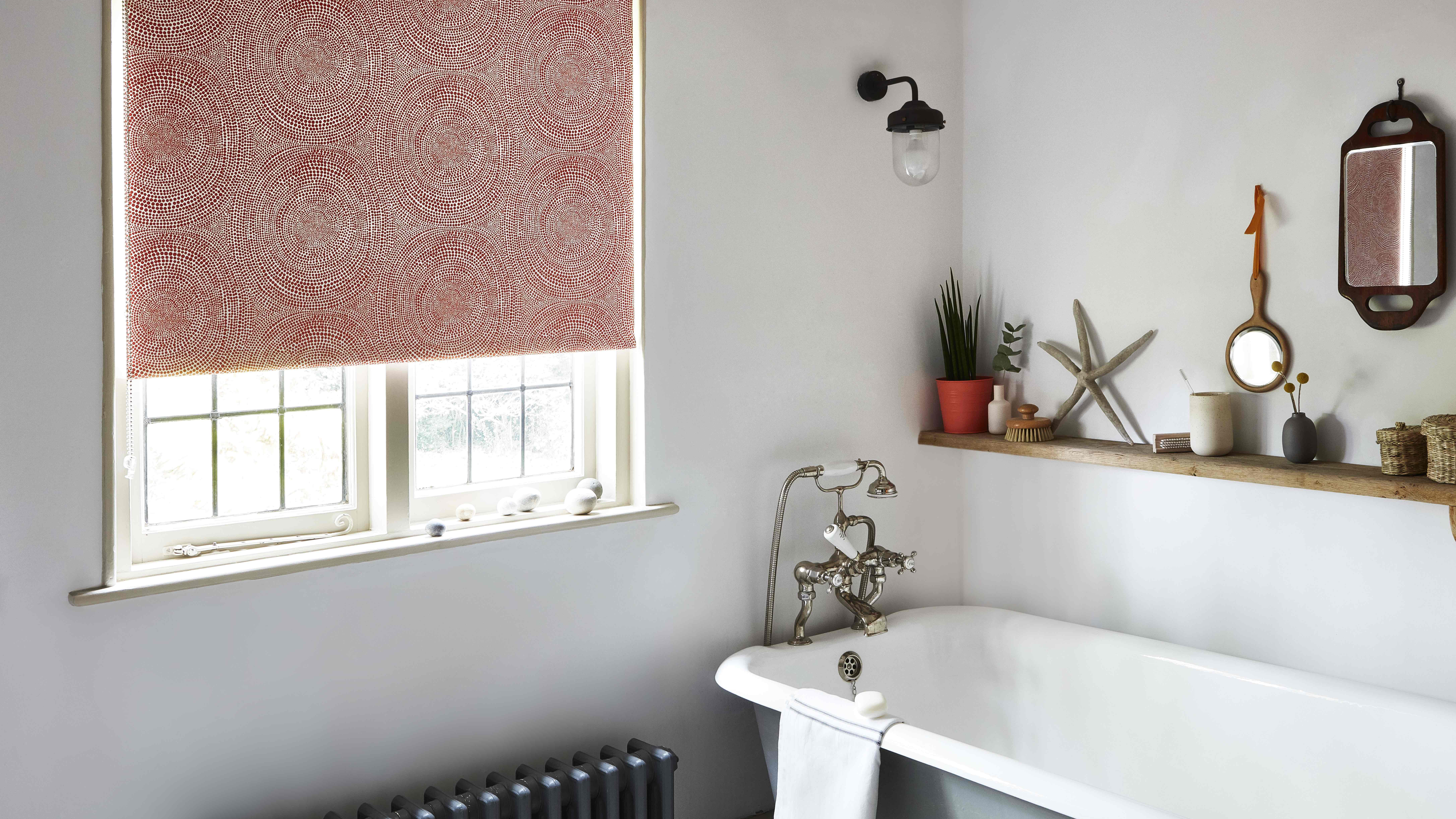11 Bathroom Window Ideas You Ll Love, Bathroom Window Treatments Curtains