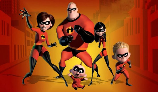 the incredibles 2 parr family